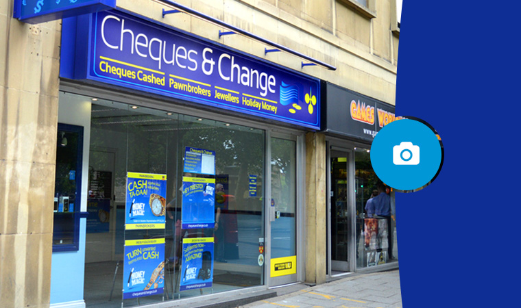 Cheques & Change Broadmead