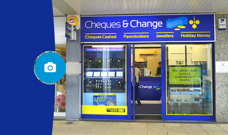Cheques & Change Yate
